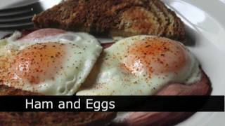 Ham And Eggs Recipe - How To Make Ham And Eggs