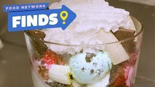 10-SCOOP Wholey Cow Ice Cream Sundae at Moomers | Food Network Finds