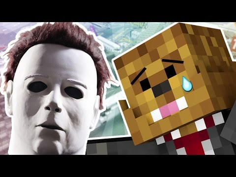 MICHAEL MYERS MURDER MINIGAME | Minecraft - Mod Battle (MIKE MYERS)