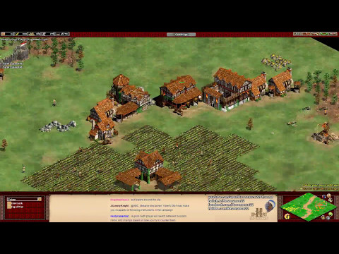 Aoe2: Berbers vs Goths, Economy Balance Tips