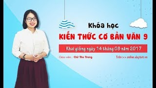 Phân tích Làng của Kim Lân - Ngữ văn lớp 9 - cô giáo Chử Thu Trang