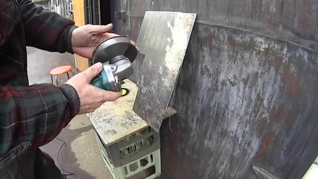Безопасная работа болгаркой