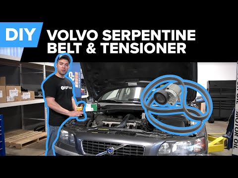 [DIAGRAM_38EU]  Volvo Serpentine Belt and Tensioner Replacement - (S40, S60, S80, V70,  XC90) - YouTube | Volvo S40 Engine Diagram Belt |  | YouTube