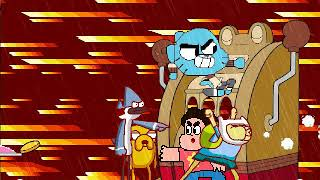 MI MUGEN Request 367 - Team Gumball VS Cuphead Bosses