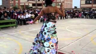 Falda De Flores Hechas Con Material Reciclado Videosfalda