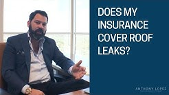 Does My Homeowners Insurance Cover Roof Leaks?