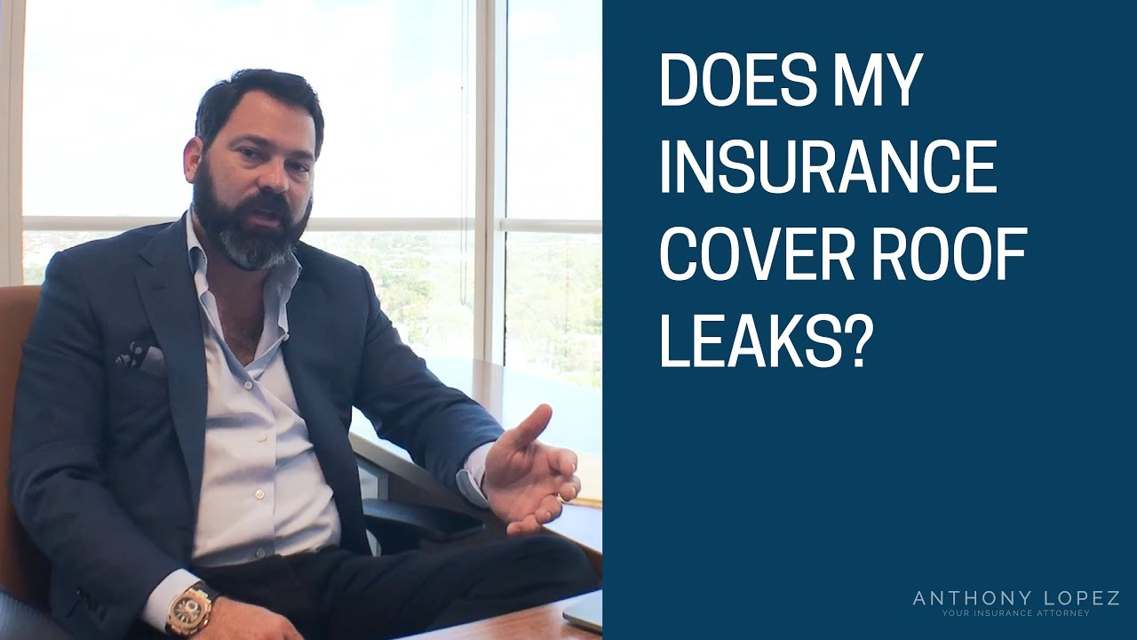 Does My Homeowners Insurance Cover Roof Leaks
