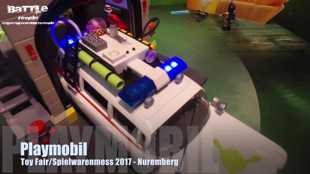 Playmobil Ghostbuster E Dragons Toy Fair Spielwarenmesse