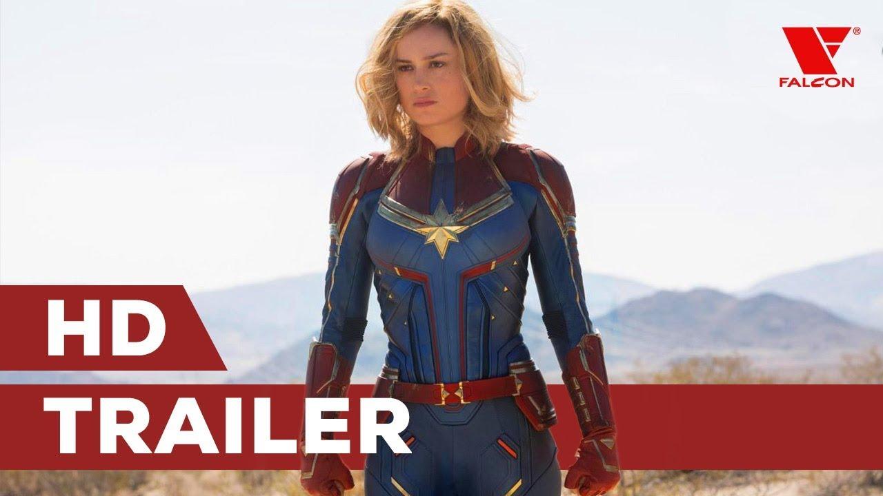 Captain Marvel (2019) HD trailer #1 [CZ dab.]