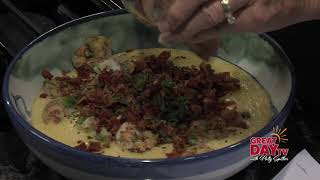 Spicy shrimp and cheesy grits recipe