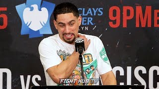 Gambar cover DANNY GARCIA REACTS TO BEING BITTEN IN FIGHT BY IVAN REDKACH & FUNNY SIX TOE PROBLEM