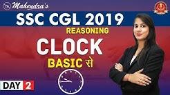 Clock | From Basic | Reasoning | By Ritika Mahendras | SSC CGL 2019 | 9:45 am