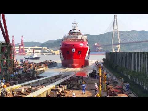 Vroon Group - Launching VOS Prime - Fujian Southeast Shipyard