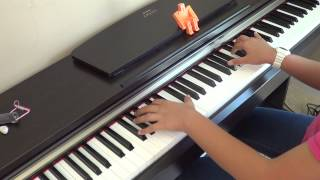 We The Kings ft.  Elena Coats - Sad  Song piano cover and lyrics by Betty Nguyen