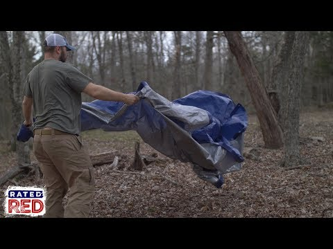 Trying To Pitch A Tarp Tent In The Wind?
