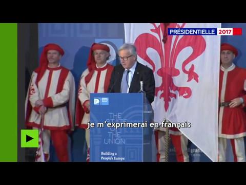 En raison du Brexit, Jean-Claude Juncker décide de s'exprimer... en français