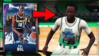 GALAXY OPAL BOL BOL IS A 7'2 SPEEDBOOSTING RANGE EXTENDER GOAT!! THE BEST CENTER IN NBA 2K20 MyTEAM!
