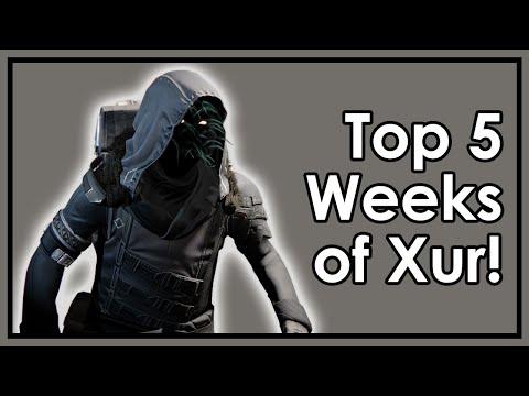 Destiny Taken King: Top 5 Best & Worst Weeks of Xur!
