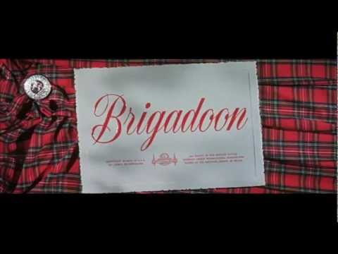 Brigadoon (1954) title sequence