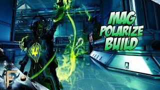 warframe mag polarize build