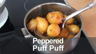 Peppered Puff Puff | All Nigerian Recipes