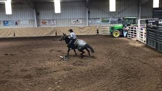 Rhett saddle bronc Saturday HYRA