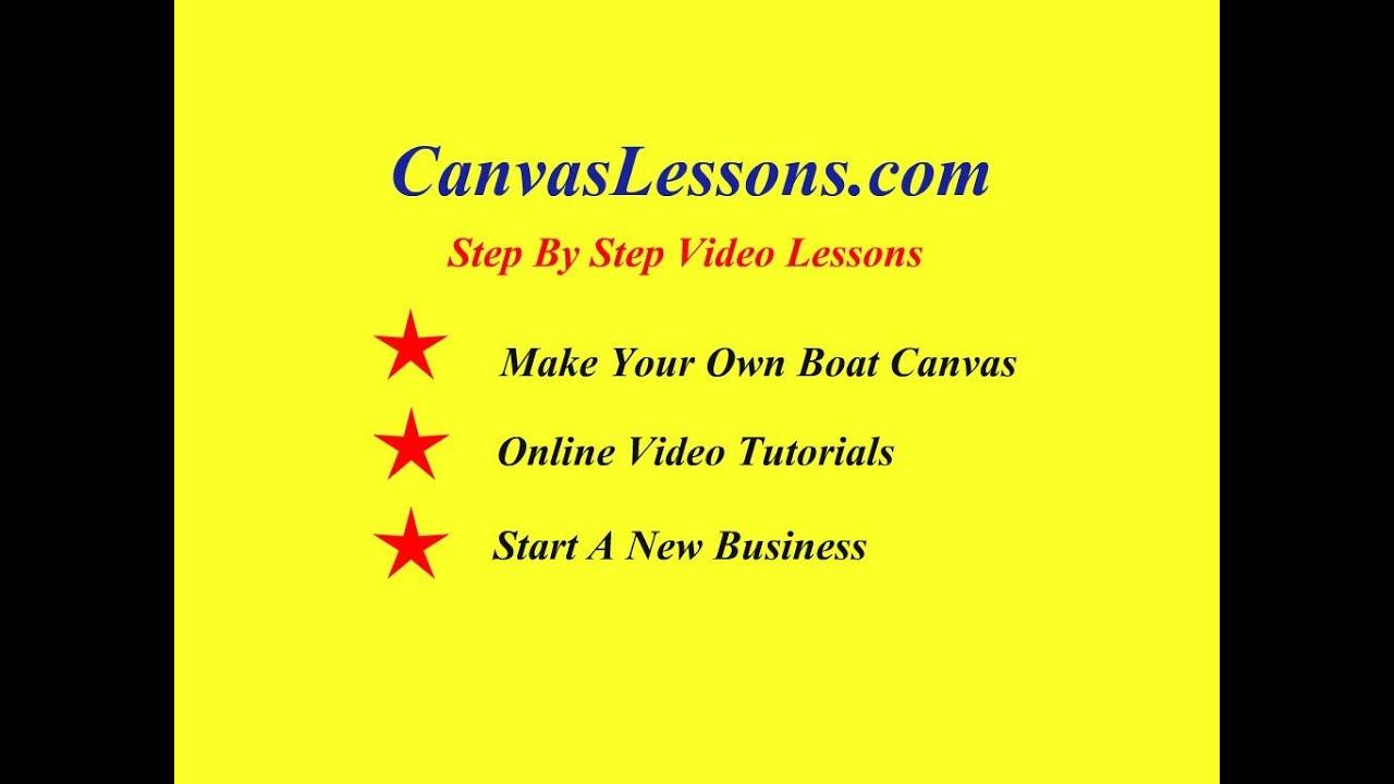 Videos Cavco Boat Canvas