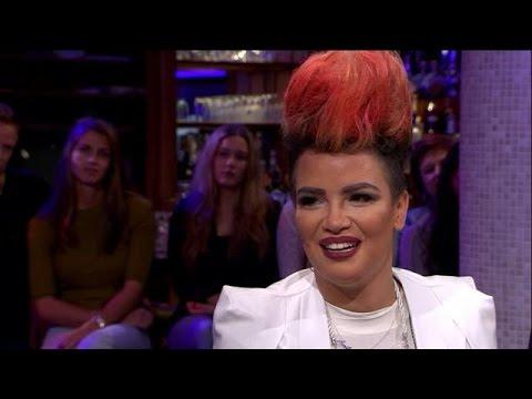 Eva Simons trots op succes eerste soloplaat - RTL LATE NIGHT
