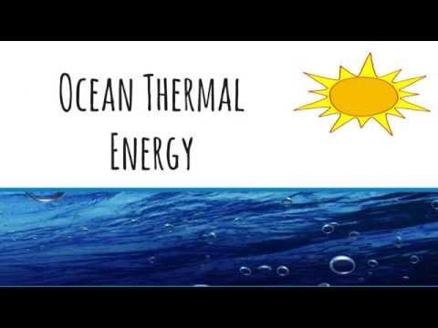 Wave Energy & Ocean Thermal Energy