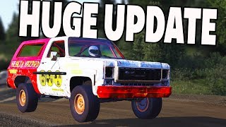 HUGE UPDATE! 2 NEW CARS! - Next Car Game Wreckfest UPDATE!