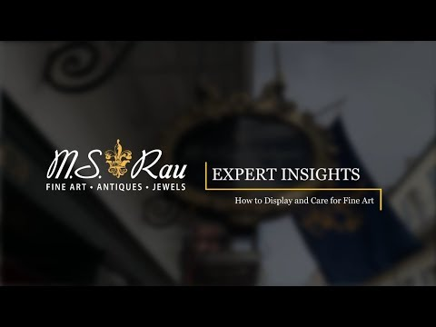 Expert Insights: How to Display and Care for Fine Art