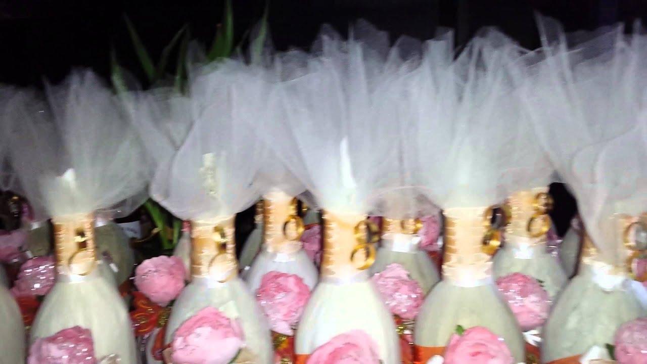 Como arreglar sidras para boda botellas vidrio decoradas for Decoraciones para decorar