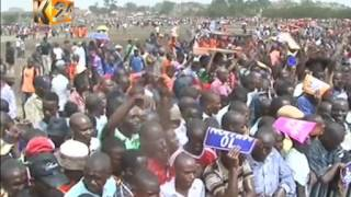 NASA supporters awaiting Raila's rally after IEBC clearance