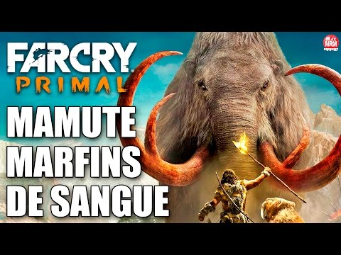 Far Cry Primal - MAMUTE MARFINS DE SANGUE ( O Maior Animal do Jogo ) [ GIGANTE E INSANO! ]