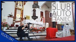 Ślub auto i taniec ( Vlog Olsztyn ) ERKA Film 041
