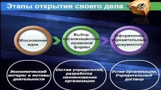 Основы предпринимательства (business Basics)
