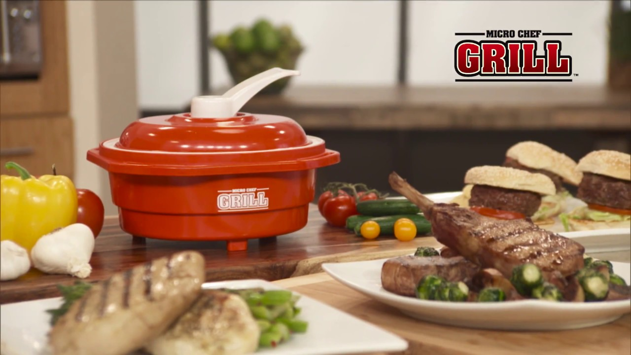 micro chef grill mikrowellen kochsystem mediashop tv. Black Bedroom Furniture Sets. Home Design Ideas