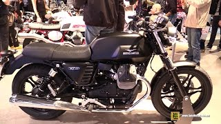 2016 Moto Guzzi V7 II Stone - Walkaround - 2015 EICMA Milan