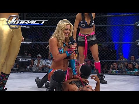 The Dollhouse Beats Down On Gail Kim And Takes Something of Hers.. (May 29, 2015)