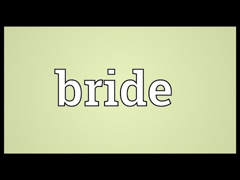 Would be bride meaning in hindi