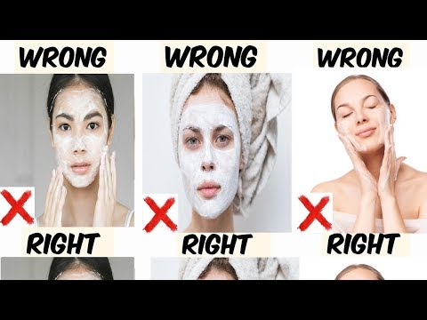 Face Washing Mistakes You Won't Ever Understood You Had Been Making