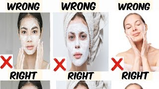 Common Face Washing & Cleansing Mistakes-Learn How to Wash & Cleanse Your Face Properly