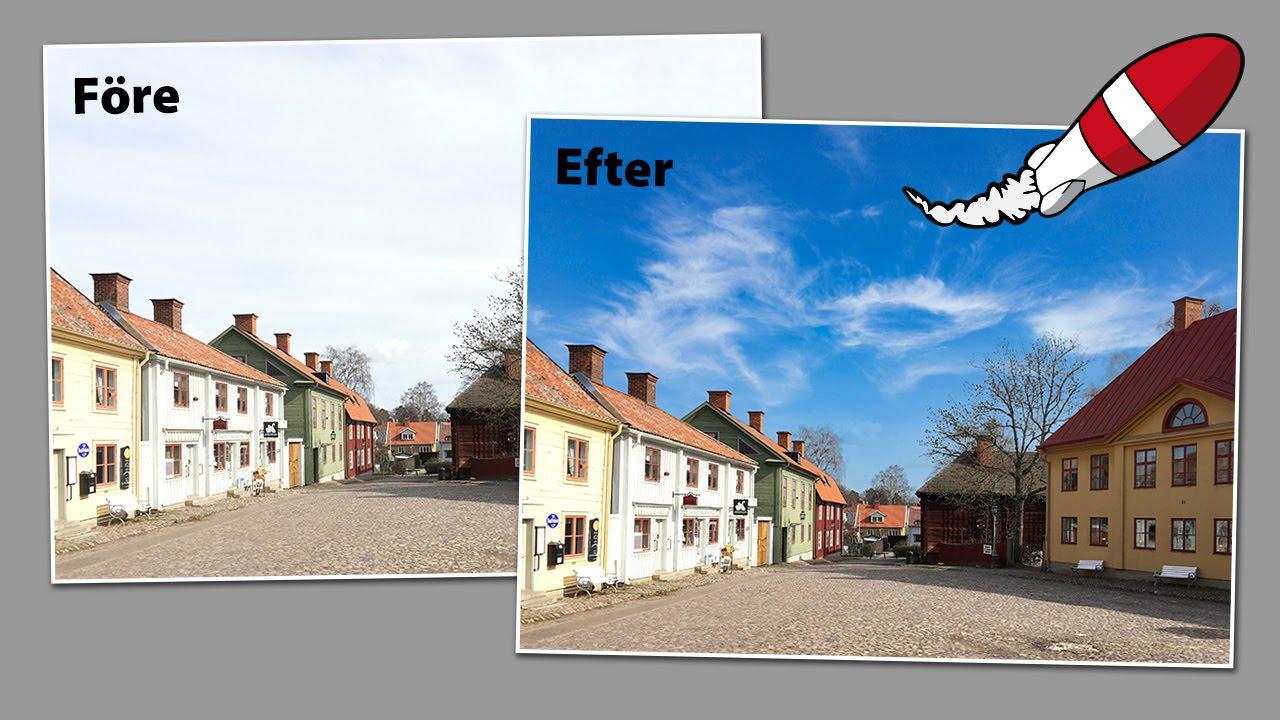 ändra bakgrund i photoshop