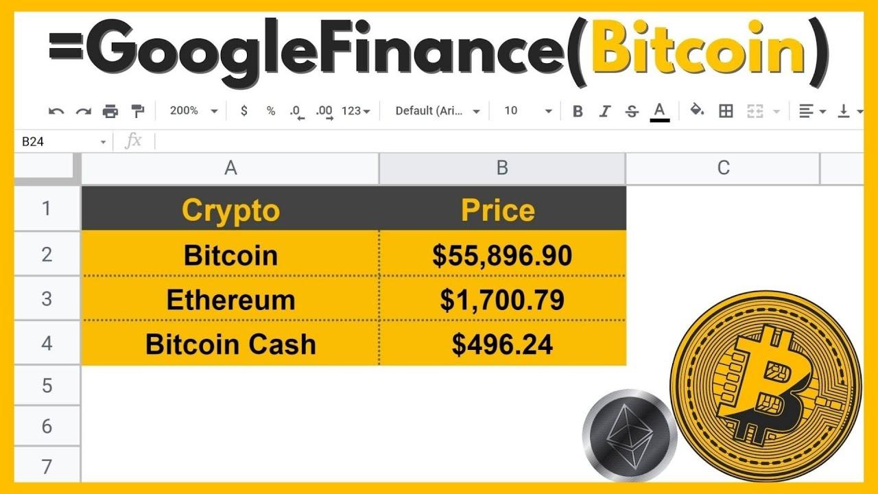 bitcoin kainos google finance