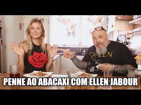 Penne ao abacaxi com Ellen Jabour | Panelaço com João Gordo