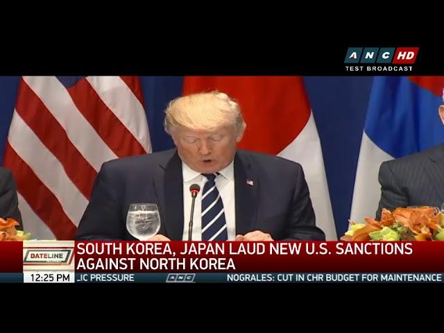 Trump orders new sanctions against N.Korea