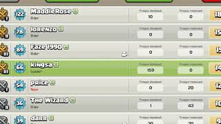 CLASH OF CLANS/Join there/New clan😊