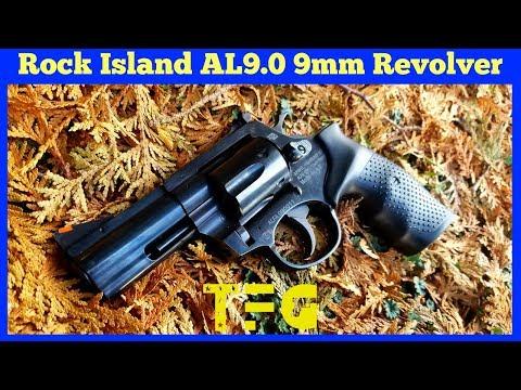 NEW First Look! Rock Island Armory AL9.0 9mm Revolver - TheFirearmGuy