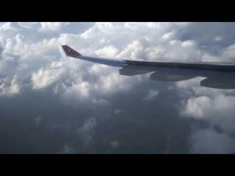 İstanbul-Antalya Seferi THY Airbus A330 Ile Türbülansa Girme Anı çekilen Sıkıntı
