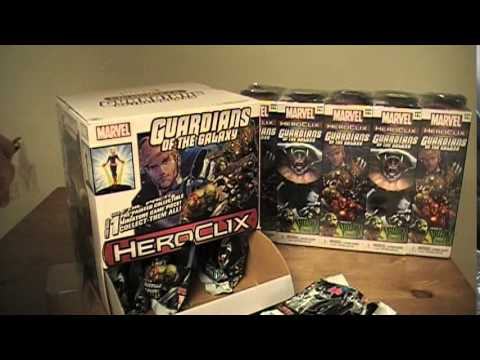 Unboxing: Guardians of the Galaxy Heroclix